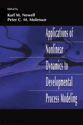 Applications of Nonlinear Dynamics To Developmental Process Modeling: 1st Edition (Paperback) book cover
