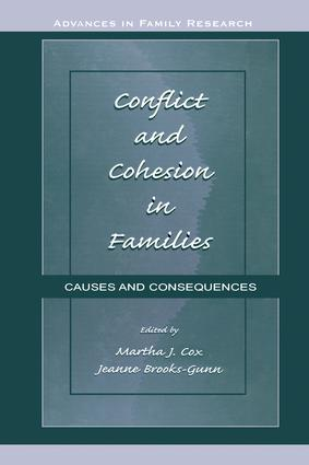 Conflict and Cohesion in Families: Causes and Consequences (Hardback) book cover