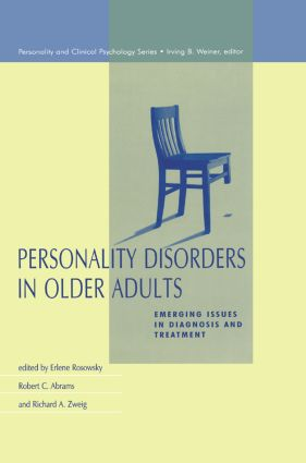 Personality Disorders in Older Adults: Emerging Issues in Diagnosis and Treatment (Hardback) book cover