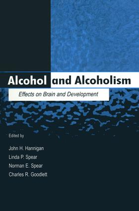 Alcohol and Alcoholism: Effects on Brain and Development (Paperback) book cover