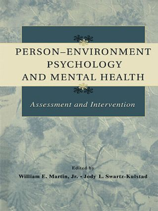Person-Environment Psychology and Mental Health: Assessment and Intervention (Hardback) book cover