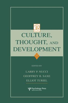 Culture, Thought, and Development (Hardback) book cover