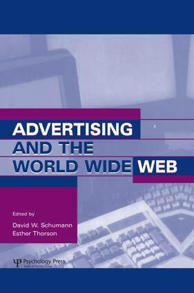 Advertising and the World Wide Web (Hardback) book cover