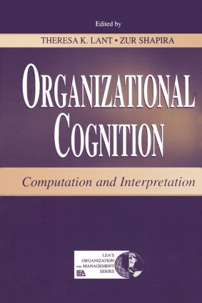 Organizational Cognition: Computation and Interpretation book cover