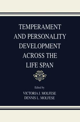 Temperament and Personality Development Across the Life Span: 1st Edition (Paperback) book cover