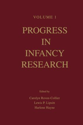 Progress in infancy Research: Volume 1, 1st Edition (Paperback) book cover
