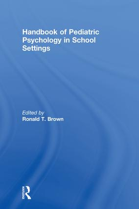 Handbook of Pediatric Psychology in School Settings