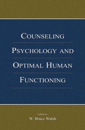 Counseling Psychology and Optimal Human Functioning book cover