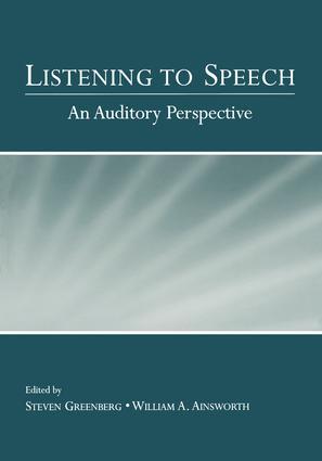Listening to Speech