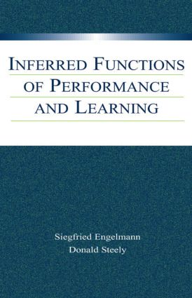 Inferred Functions of Performance and Learning (e-Book) book cover
