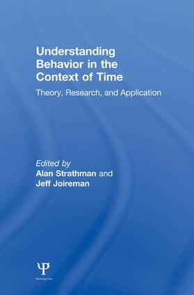 Understanding Behavior in the Context of Time