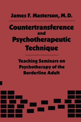 Countertransference and Psychotherapeutic Technique: Teaching Seminars, 1st Edition (Paperback) book cover