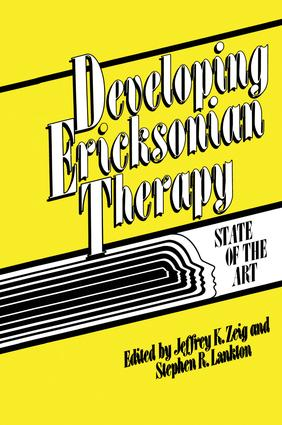 Developing Ericksonian Therapy: A State Of The Art, 1st Edition (Paperback) book cover
