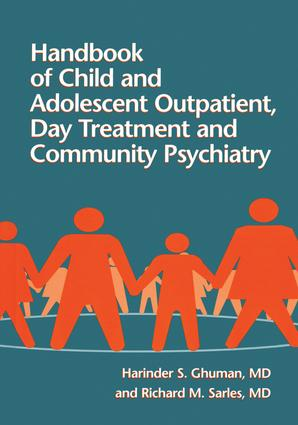 Handbook Of Child And Adolescent Outpatient, Day Treatment A: 1st Edition (Paperback) book cover