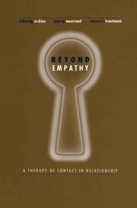Beyond Empathy: A Therapy of Contact-in Relationships, 1st Edition (Paperback) book cover