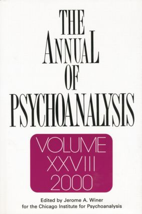 The Annual of Psychoanalysis, V. 28