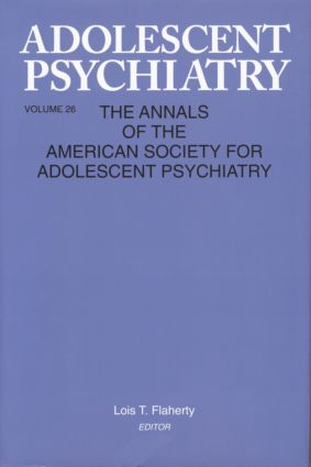 Adolescent Psychiatry, V. 26: Annals of the American Society for Adolescent Psychiatry (Paperback) book cover