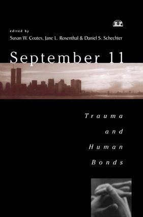 September 11: Trauma and Human Bonds, 1st Edition (Paperback) book cover