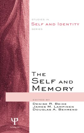The Self and Memory: 1st Edition (Paperback) book cover