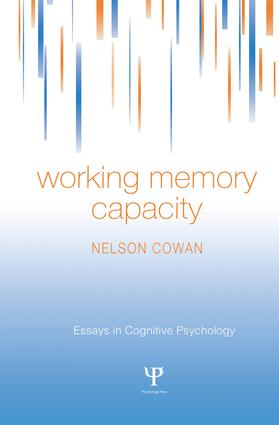 Working Memory Capacity book cover