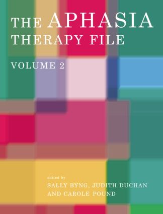 The Aphasia Therapy File: Volume 2, 1st Edition (Paperback) book cover