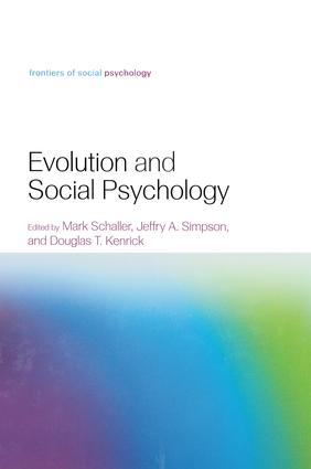 Evolution and Social Psychology: 1st Edition (Paperback) book cover
