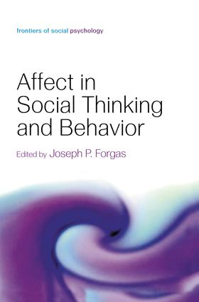 Affect in Social Thinking and Behavior (e-Book) book cover
