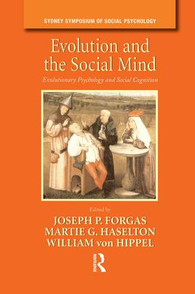 Evolution and the Social Mind: Evolutionary Psychology and Social Cognition, 1st Edition (Paperback) book cover