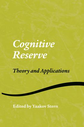 Cognitive Reserve: Theory and Applications (e-Book) book cover