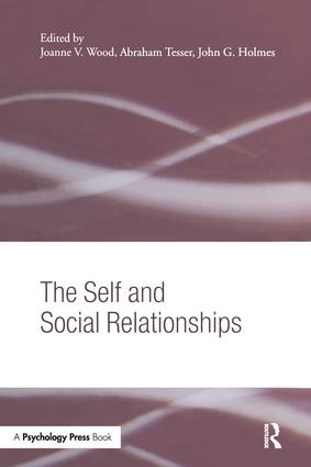 The Self and Social Relationships (Paperback) book cover