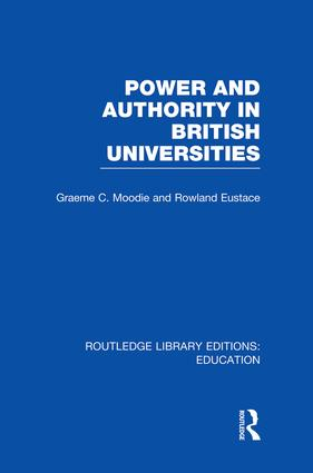 Power & Authority in British Universities