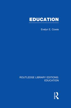 Education: Examining the Evidence, 1st Edition (e-Book) book cover