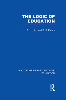 The Logic of Education (RLE Edu K) book cover