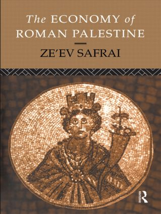 The Economy of Roman Palestine: 1st Edition (Paperback) book cover
