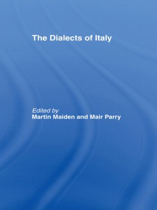The Dialects of Italy (Hardback) book cover