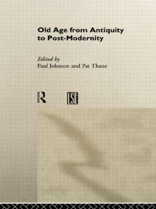 Old Age from Antiquity to Post-Modernity (Paperback) book cover