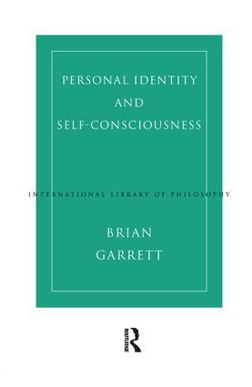 Personal Identity and Self-Consciousness book cover