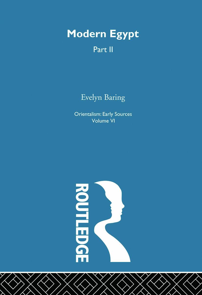 Mod Egypt Pt2:Orientalism V 6: 1st Edition (Paperback) book cover