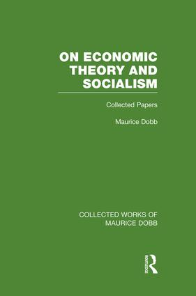 On Economic Theory & Socialism: Collected Papers, 1st Edition (Paperback) book cover