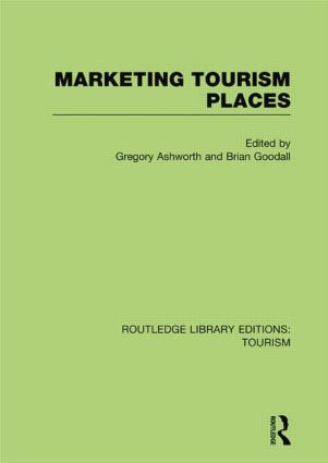 Marketing Tourism Places (RLE Tourism) book cover