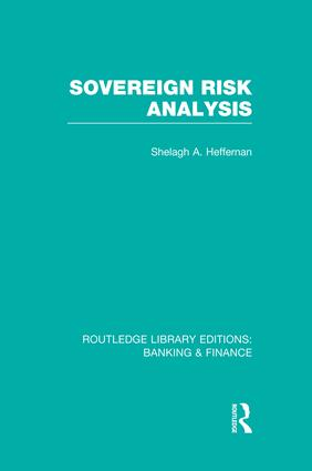 Sovereign Risk Analysis (RLE Banking & Finance): 1st Edition (Paperback) book cover
