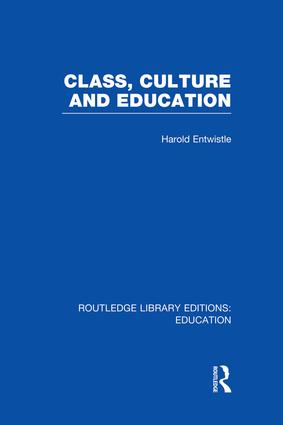 Culture and the curriculum