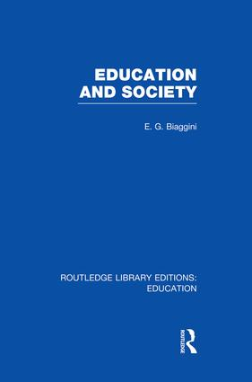 Education and Society (RLE Edu L)