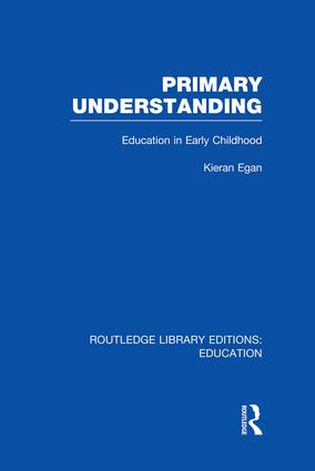 Primary Understanding: Education in Early Childhood, 1st Edition (Paperback) book cover