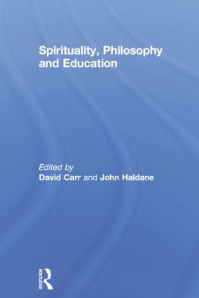 Spirituality, Philosophy and Education book cover