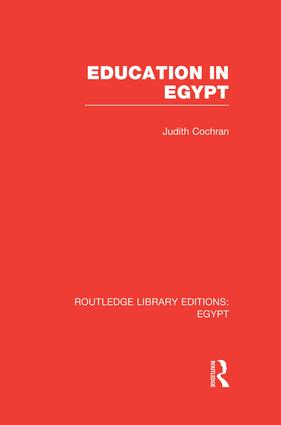 Education in Egypt (RLE Egypt) book cover