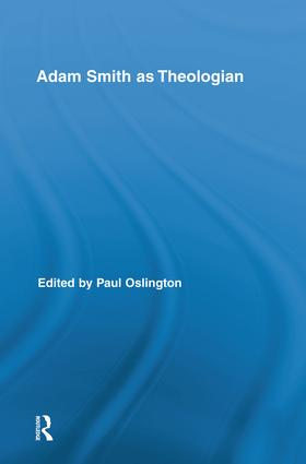 Adam Smith as Theologian: 1st Edition (Paperback) book cover