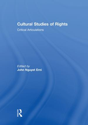 Cultural Studies of Rights: Critical Articulations, 1st Edition (Paperback) book cover