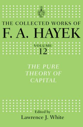 The Pure Theory of Capital book cover