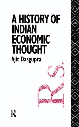 A History of Indian Economic Thought book cover
